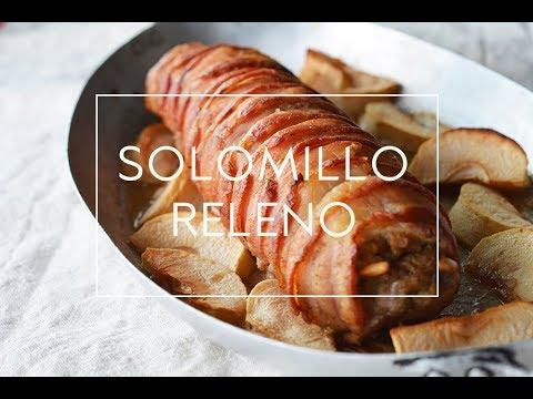 Como hacer solomillo relleno receta f cil de navidad for Como preparar solomillo
