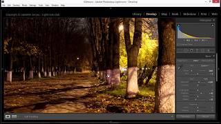 Как обработать ночной пейзаж в лайтрум?