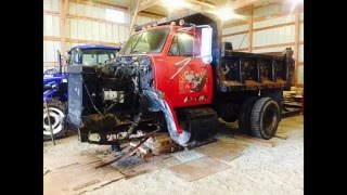 GMC 9500 Dump Truck Steer Axle Swap