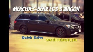 "Mercedes-Benz E63 S 4MATIC Wagon QUICK DRIVE - ""Chris Drives Cars"" Video Test Drive"