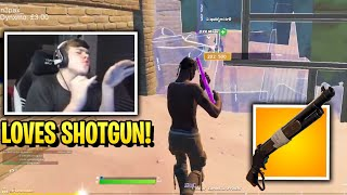 Mongraal LOVES FORTNITE Again After Switch To LEVER ACTION SHOTGUN!