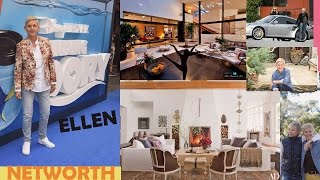 Ellen Degeneres Net worth -Income-Houses-Cars-Pets-Films-Shows and Lifestyle
