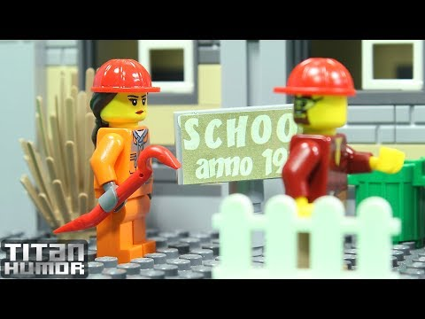 Lego School Demolition Fail