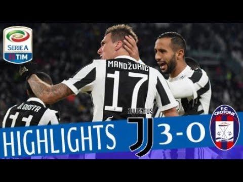 Juventus - Crotone 3 - 0 - Highlights - Giornata 14 - Serie A TIM 2017/18
