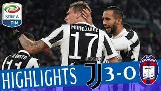 Juventus - Crotone 3-0 - Highlights - Giornata 14 - Serie A TIM 2017/18 streaming