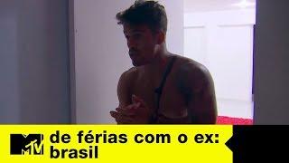Anna Clara continua pistola com André   De Férias Com O Ex Brasil Ep. 05
