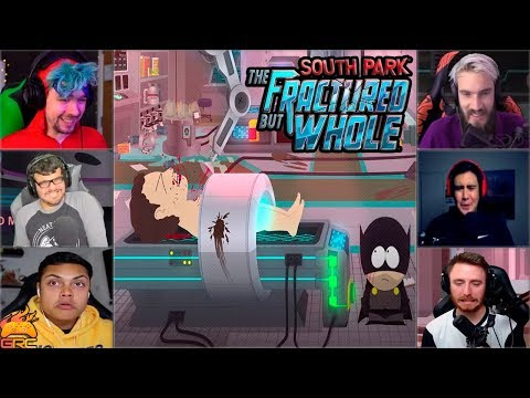 Gamers Reactions to Mom's or Dad's DNA Choice | South Park™: The Fractured But Whole