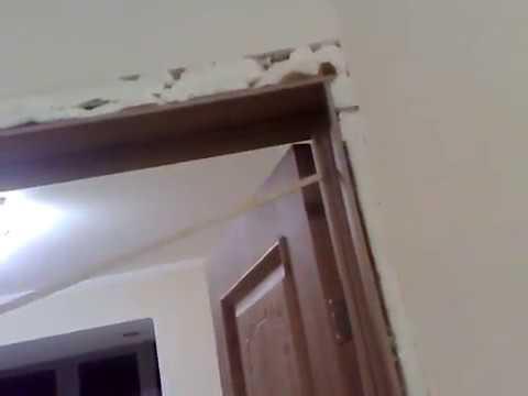 день 80 - продолжение установки дверей в комнату, кухню и санузел