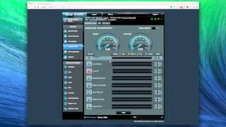Asus AC2400 RT AC87R / AC87U Dashboard & Web Config Part 1