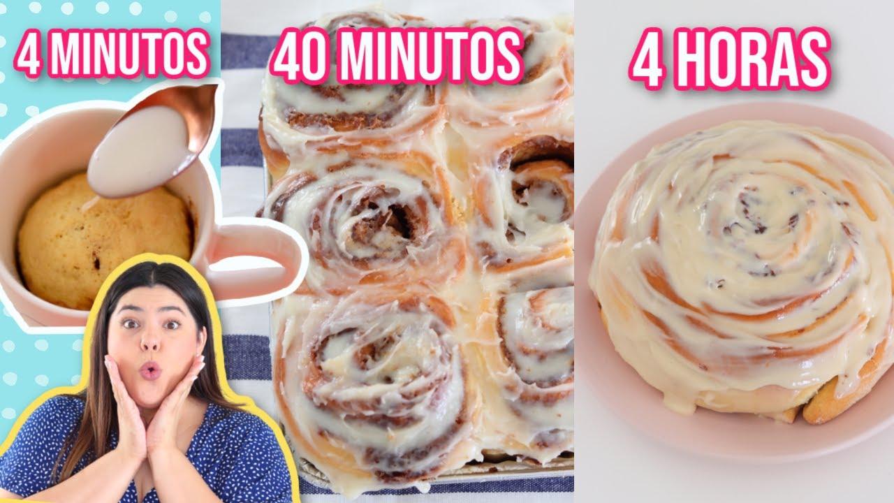 Roles de Canela 4min vs 40 MINUTOS vs 4 HORAS | RebeO