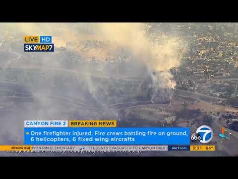 2017-10-09 Orange Park Acres fire ABC7