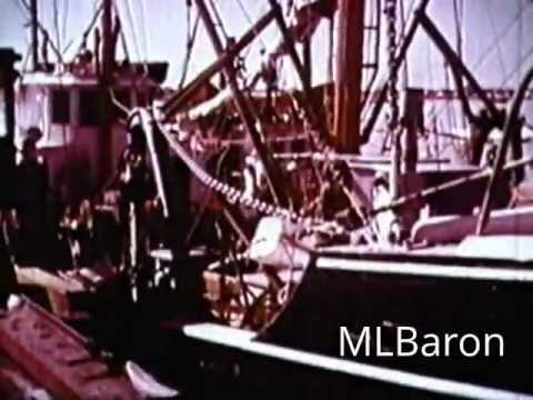 "Vintage Scallop Film New Bedford,MA 1963 Color Documentary ""The Pearl of The Atlantic"""