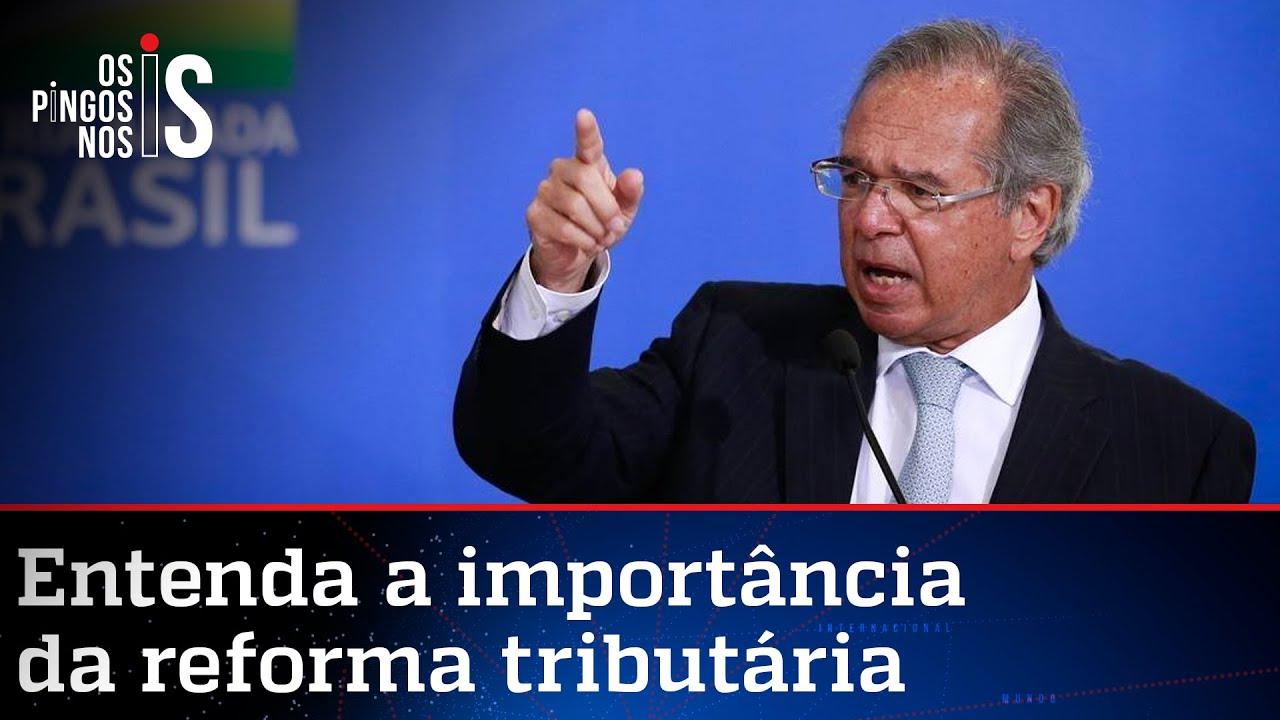 Paulo Guedes vai ao Congresso defender a reforma tributária