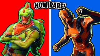 Fortnite Skins That Are Now RARE! (Ranking All Fortnite Skins)