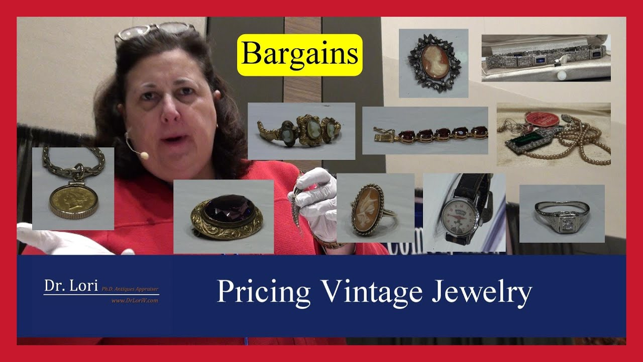 Valuing Vintage Jewelry: Gemstones, Rings, Bracelets and Watches by Dr. Lori