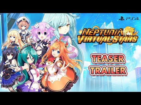 Neptunia Virtual Stars - Teaser Trailer (EU)
