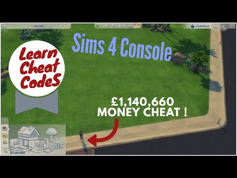 Sims 4 Console cheat code / money cheat on Xbox One/PS4 - YouTube