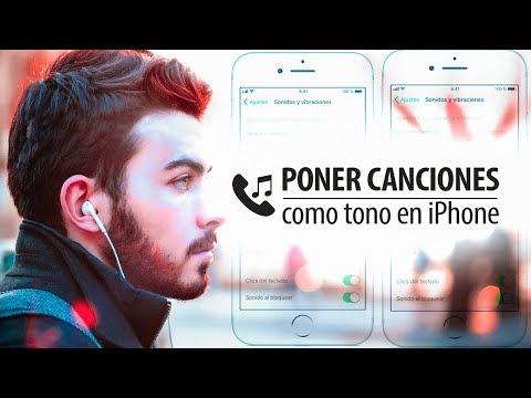 Cómo poner canciones de tono de llamada en iPhone (2018)