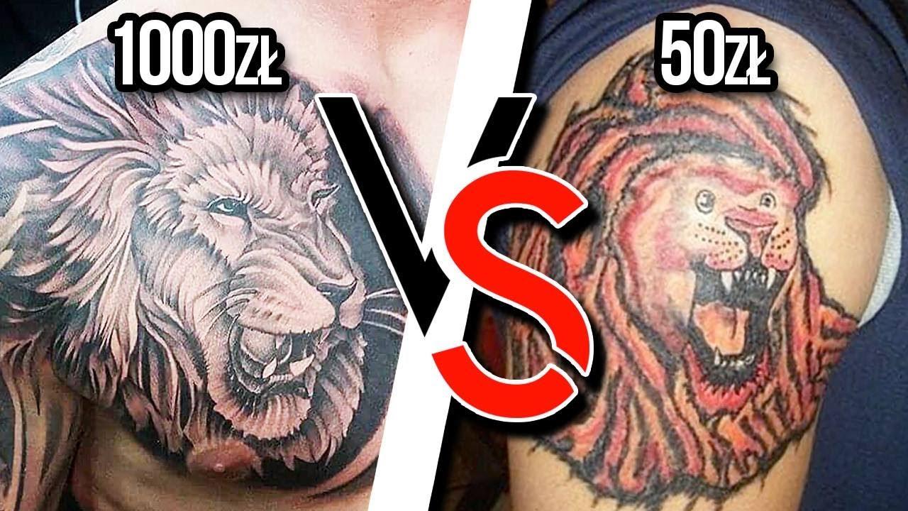 Jak Wybrać Tatuatora Tanio Vs Drogo