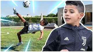 How Good Is Cristiano Ronaldo's Son Actually? (The Scary Truth)