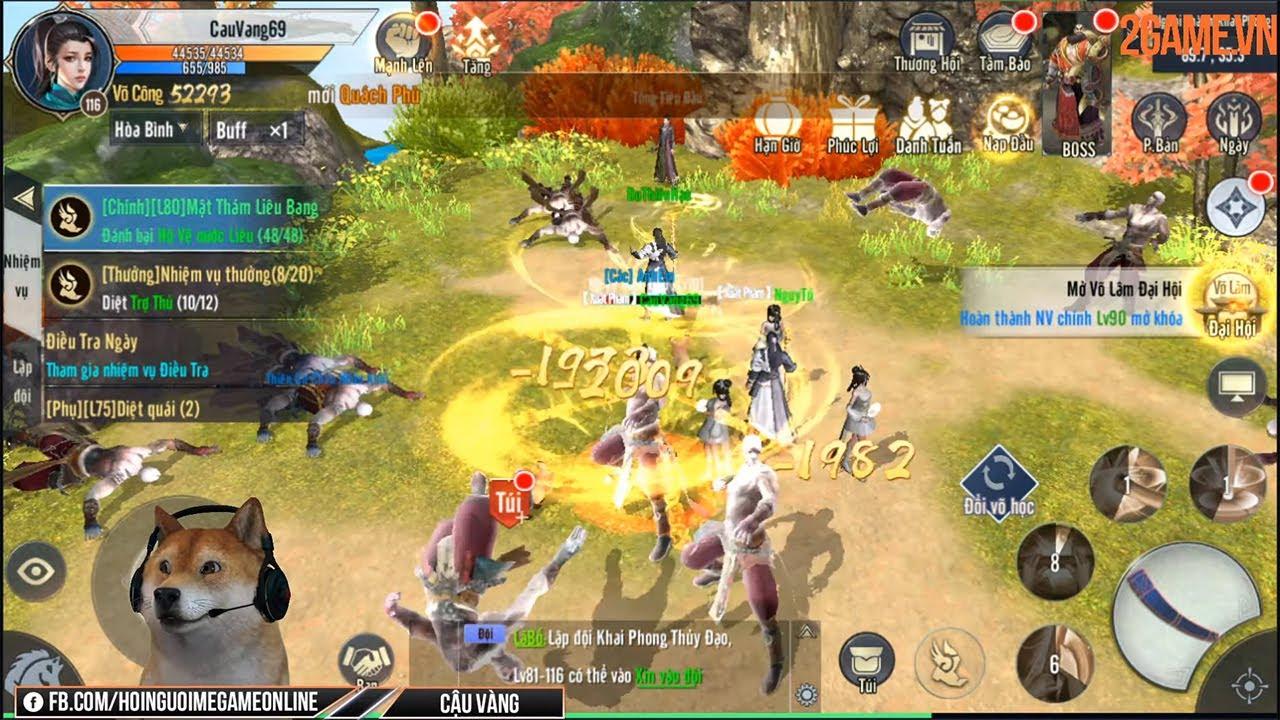 [Cảm nhận] Game Nhất Mộng Giang Hồ Mobile tái hiện nhiều võ học nổi tiếng của Kim Dung