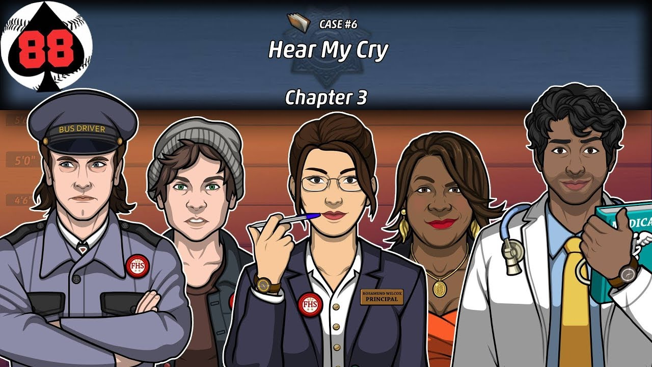 Criminal Case: The Conspiracy - Case 6 - Hear My Cry - Chapter 3
