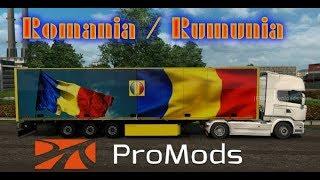 ???? ETS2 ProMods Rumunia/Romania/Serbia  VOLVO 1100HP #NAŻYWO - Na żywo