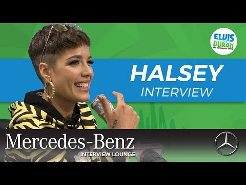 Halsey's Heartfelt Message to Her Fans | Elvis Duran Show