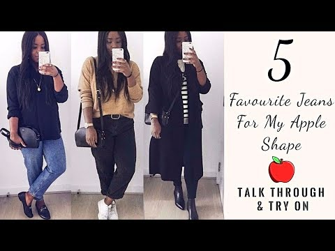 DRESSING FOR MY APPLE SHAPE | 5 FAVOURITE JEANS | LOOKBOOK | INSPIRED BY IDA |