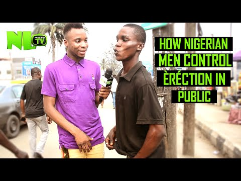 FUNNY!! How Nigerian Men Control Èréction In Public