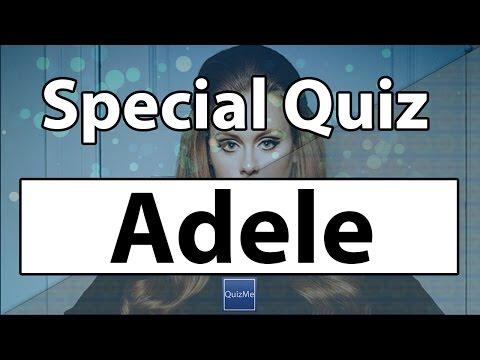 Adele Quiz | QuizMe