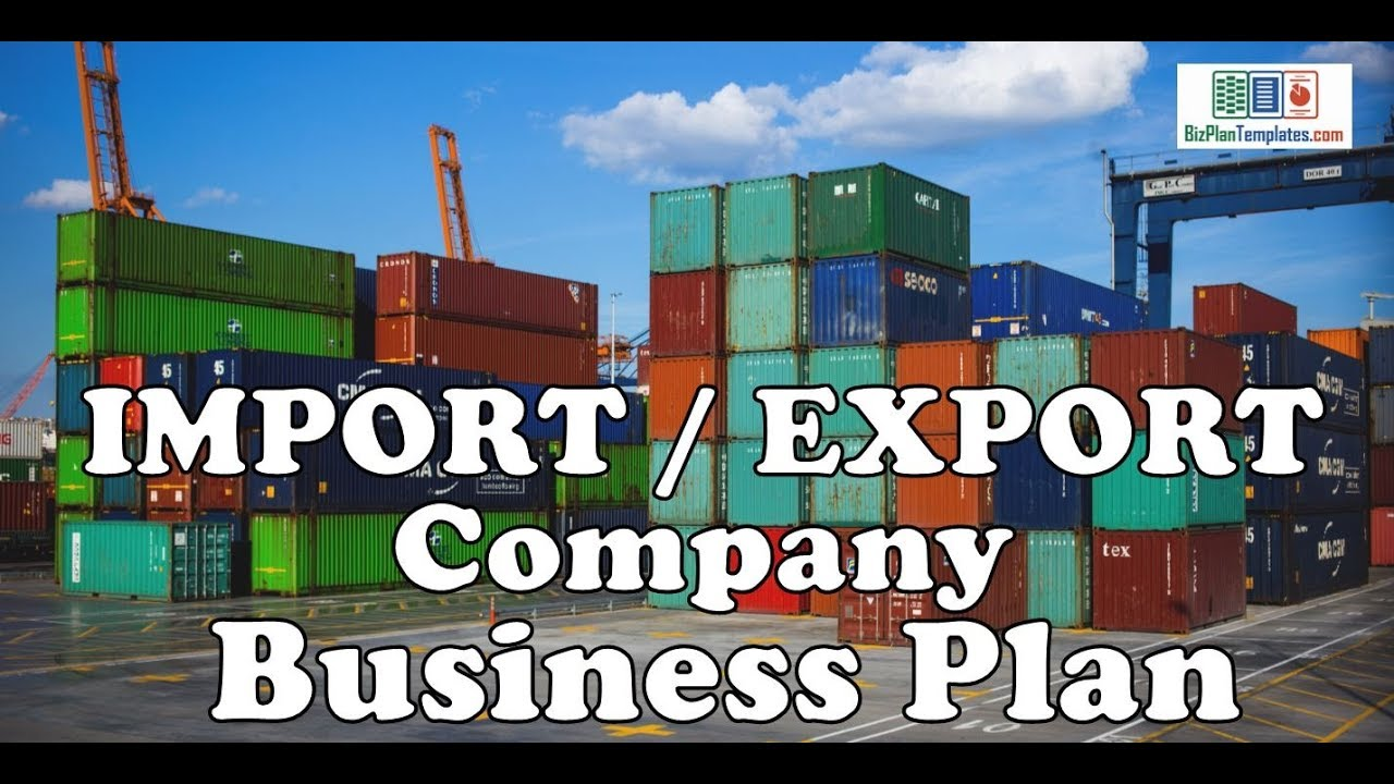 business plan for trading company sample pdf