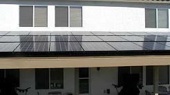 Not for going green, but saving some... Solar Panels Installed.  9.2 Kilowatts