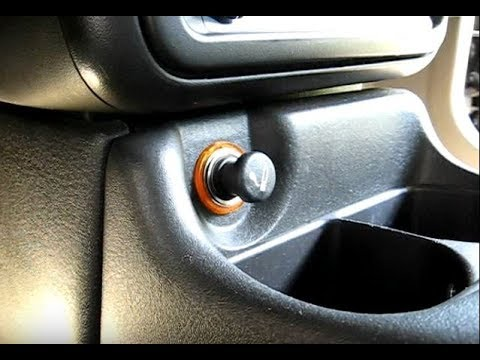 Cigarette Lighter Remove  Replace - YouTube