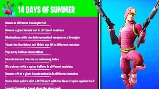 "FORTNITE 14 DAYS OF SUMMER EVENT! ""14 DAYS OF SUMMER"" *FREE* REWARDS in Fortnite Battle Royale!"