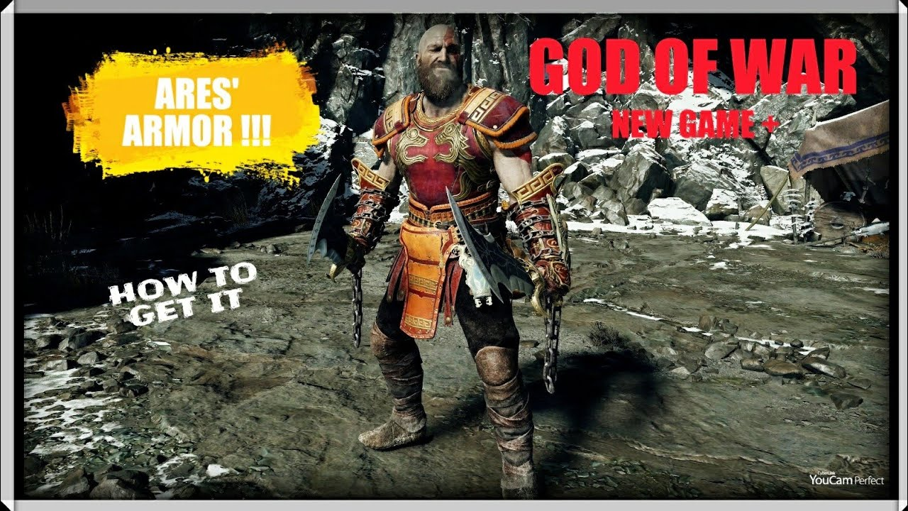 GOD OF WAR NG+ ARES ARMOR! | How to get it, where to get it, stats