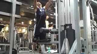1 Ton Weight Lifting Hooks Demo 2 - Heavy Lat Pulldowns