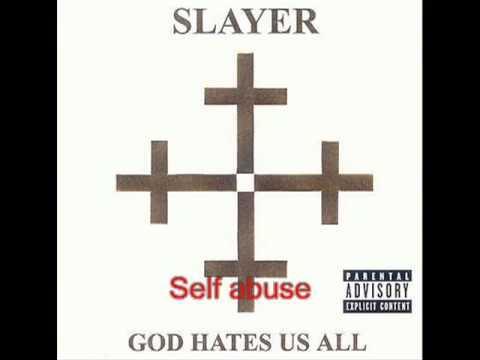 Slayer  - Disciple - God Hates Us All