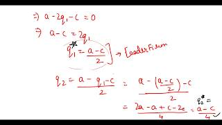 Stackelberg Model - Nash Equilibrium