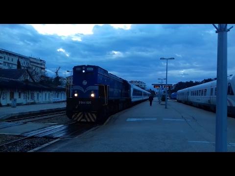 Vožnja Dalmatinskom i Ličkom prugom//Train ride on Dalmatian and Lika railway