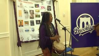 """Ubaka Hill Drumming at """"Digging up Dis Sistas Roots 4"""" In Brooklyn!"""