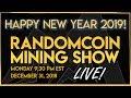 RandomCoin Mining Show LIVE! ⛏ - HAPPY 2019! 🚀🎉- STIM (STIM) - Lyra2z