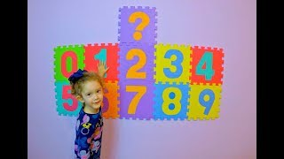 Learn Numbers with Toys for Childrens Toddlers Babies*Aprende los Numeros con Juguetes para Niños
