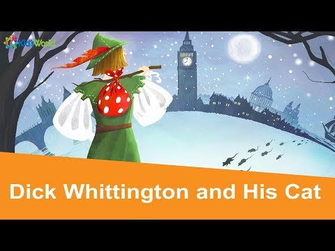 Dick Whittington and His Cat Full Story, Fairy Tales for Kids