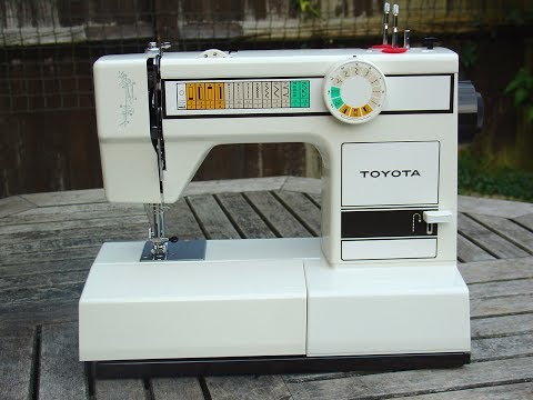 Toyota rs2000 jeans sewing machine instruction manual.
