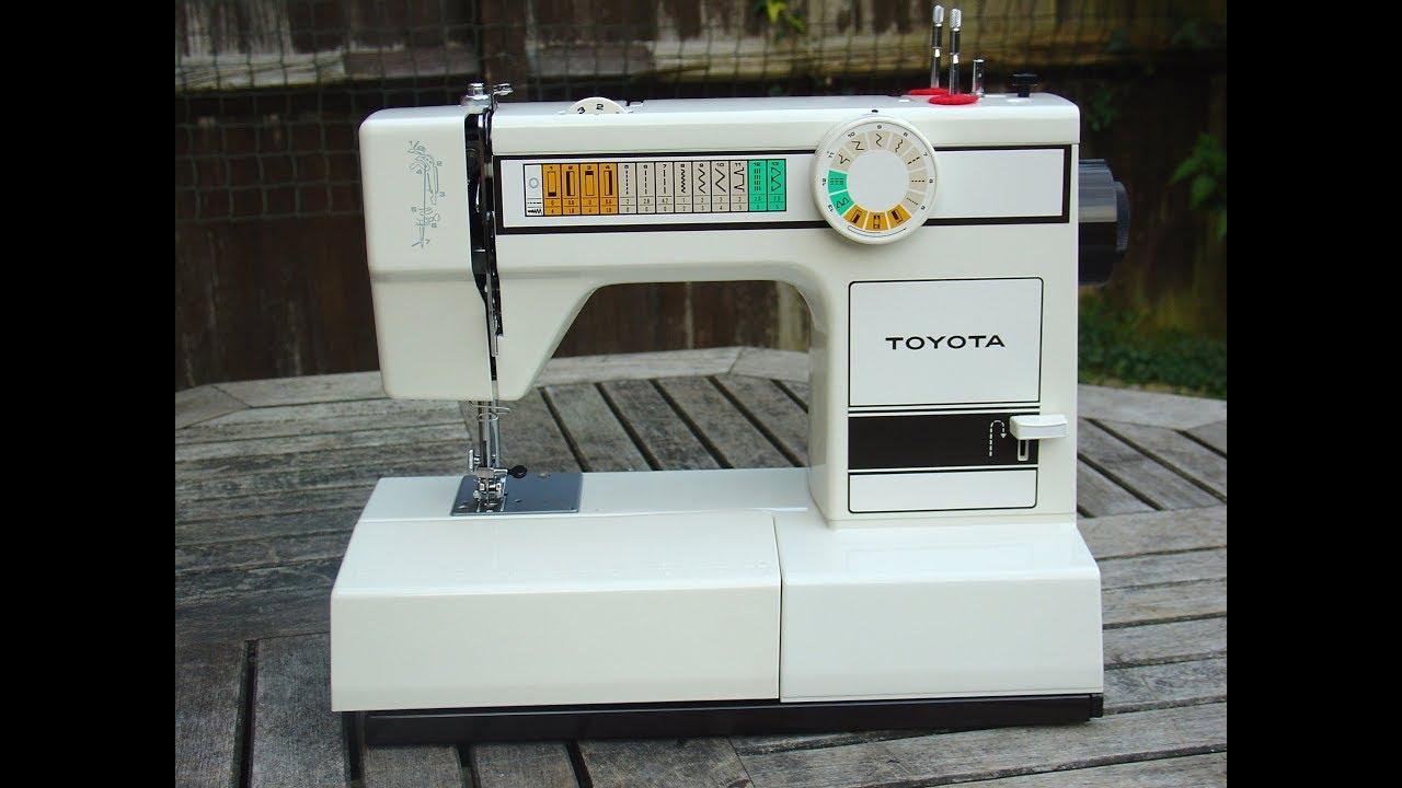 Toyota 2260 & 2640 sewing machine instruction manual.