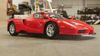 Convert Toy Grade Ferrari into Proportional Steering