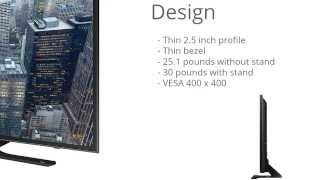 "Samsung UN48JU6500 48"" 4K Ultra HD LED TV Virtual Review"