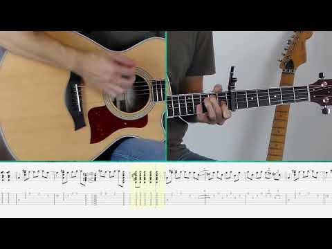 The Beatles - Here Comes The Sun (Guitar Tutorial) - YouTube