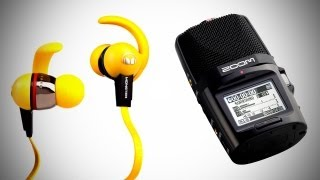 In Review_ Monster iSport Immersion Headphones + Zoom H2N Audio Recorder